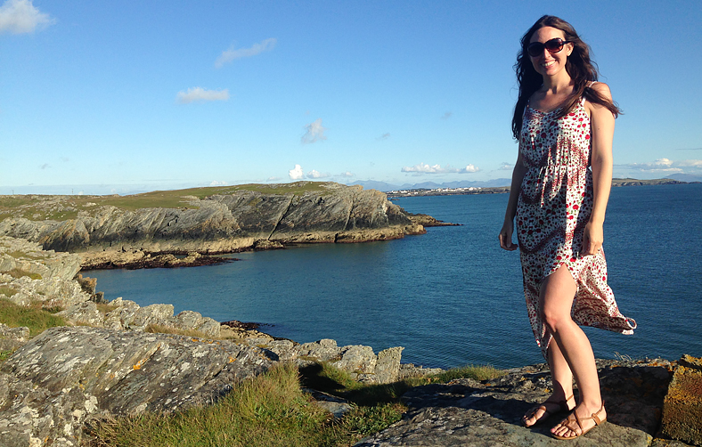 Christina in Anglesey