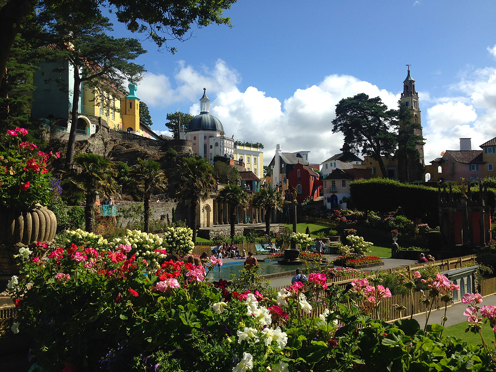 Travel Box Tuesday: Portmeirion, North Wales